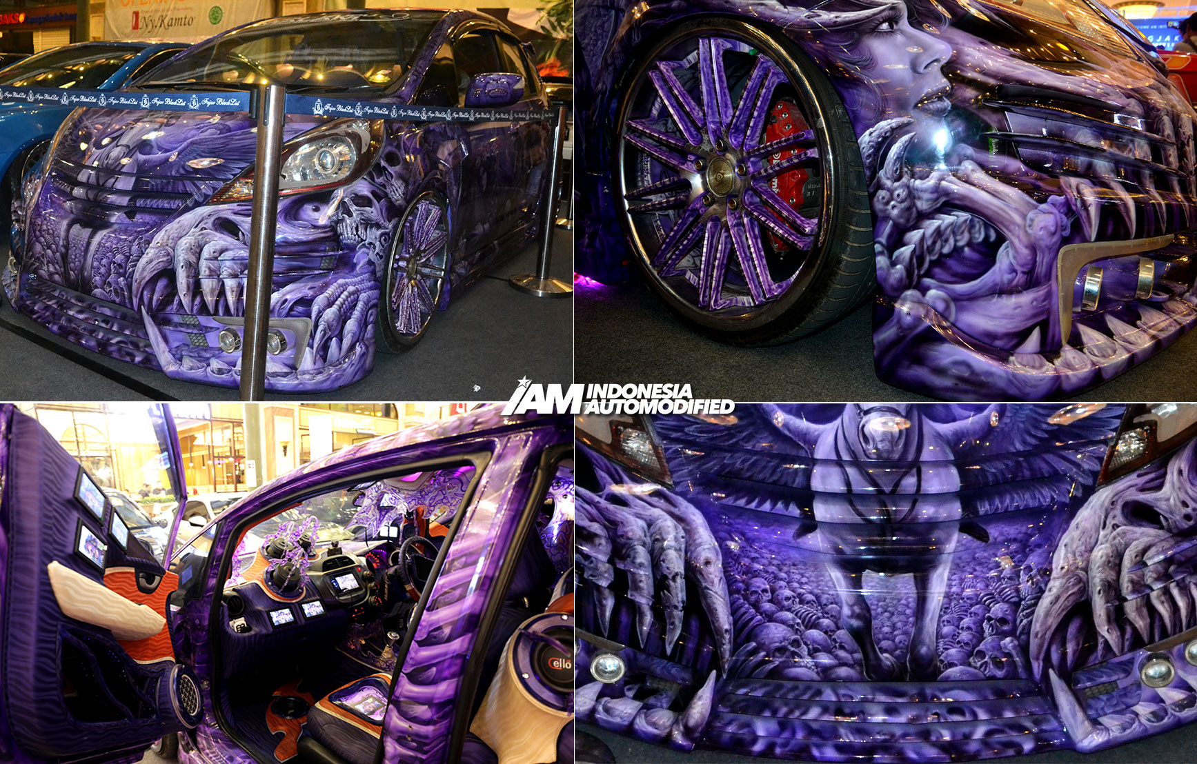 Modifikasi Honda Jazz Airbrush Jogja Indonesia Automodified Iam