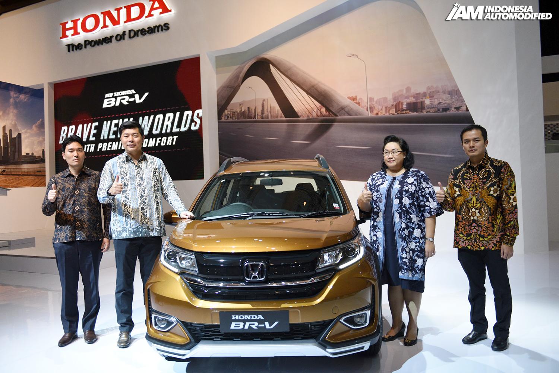 New Honda Brv Di Iims 2019 Indonesia Automodified Iam