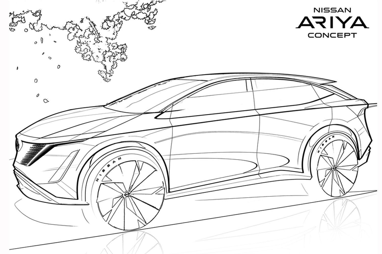 Dukung Kreativitas Anak Nissan Sediakan 23 Halaman Sketsa Gambar International Automodified Iam
